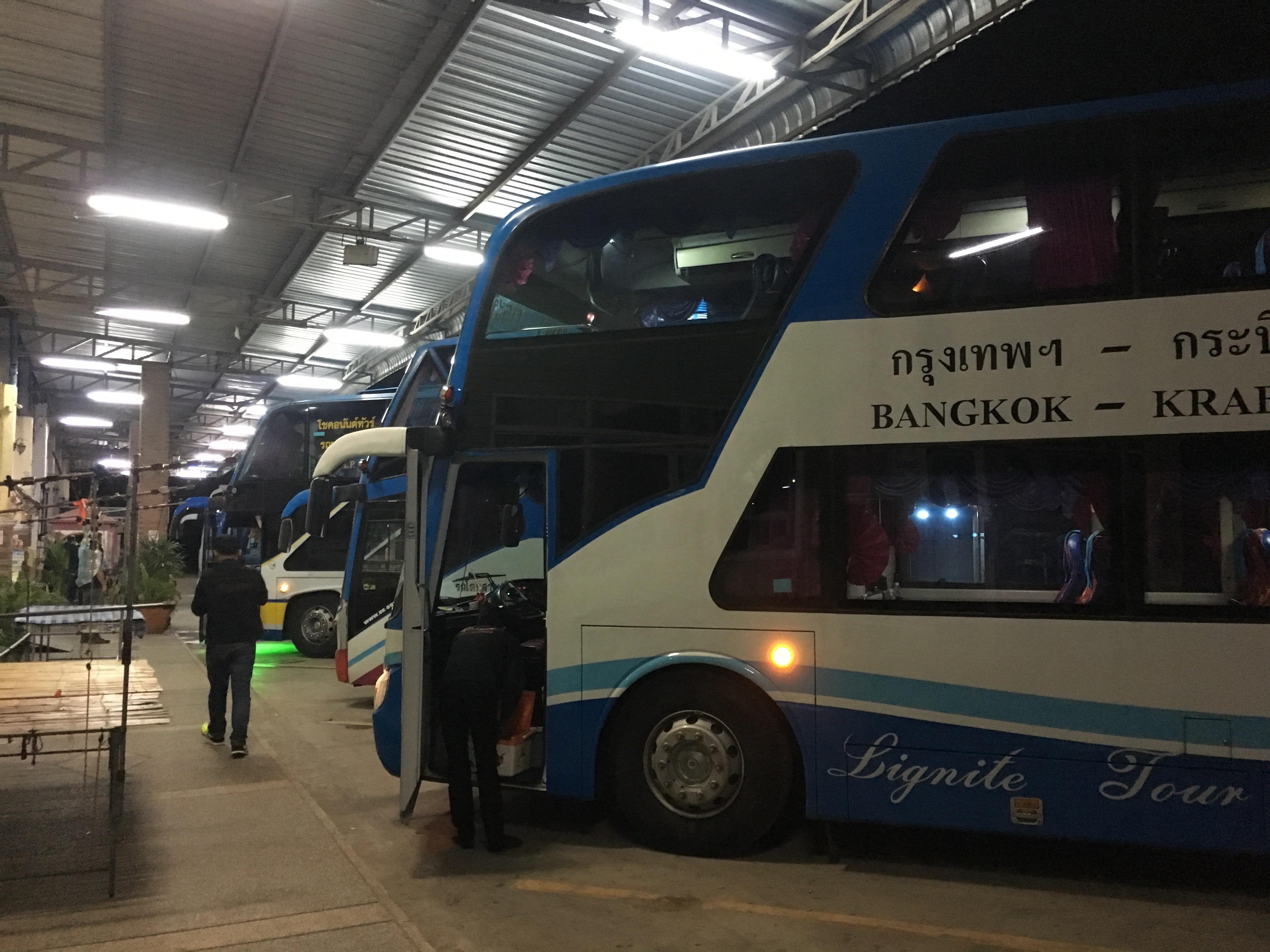 バンコクからプーケットをバスで移動する場合の方法と費用や注意点